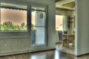 Miete oder MIETKAUF dieser hellen Wohnung mit Loggia an der Lobau