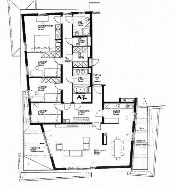 Moderne 5 Zimmer Dachgeschoß Wohnung /  / 1190Wien / Bild 14