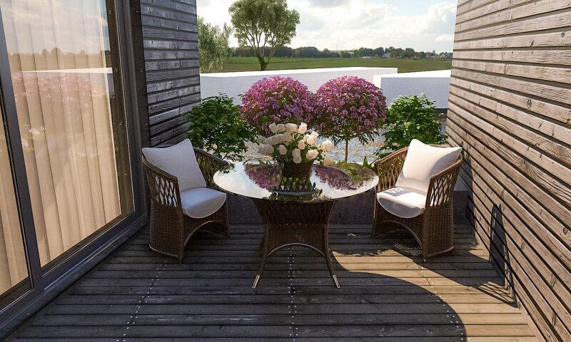 Wohnen am Wasser: exklusive Gartenwohnung am Segelhafen