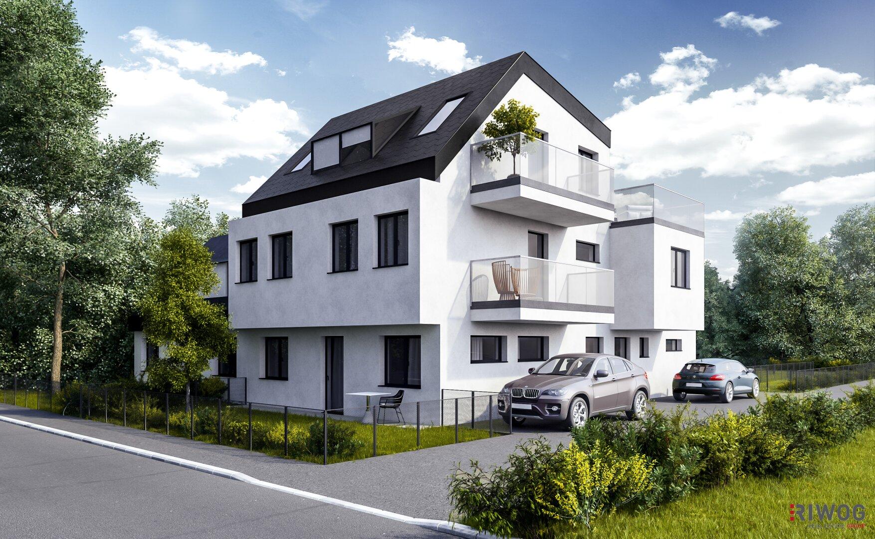 """""""GREENERY"""" - Wohnen im Doppelhaus mit allen Vorzügen (Projektansicht)"""
