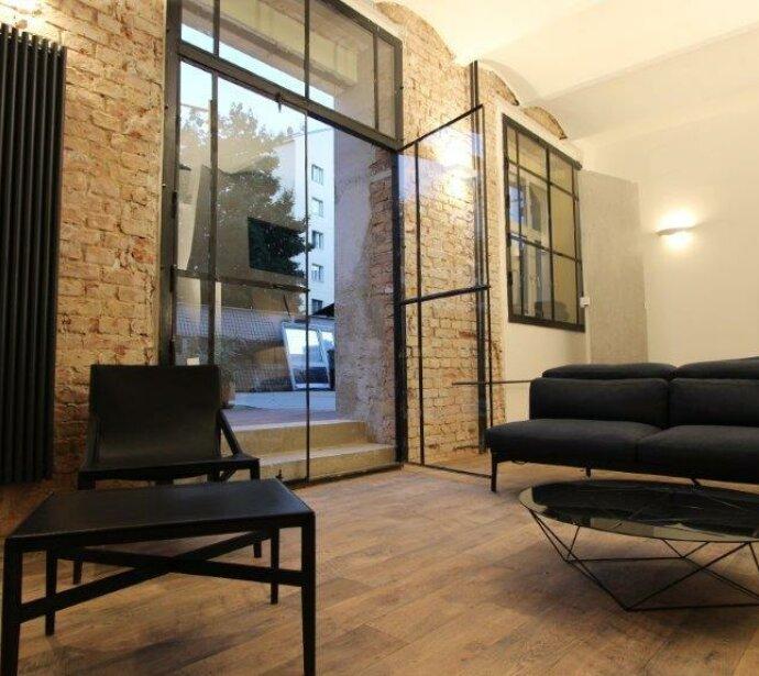 the TOWNHOUSE DREAM LOFT - Wohnen auf höherer Ebene im extravaganten Industrie-Loft mit 63 m² inkl. Galerie