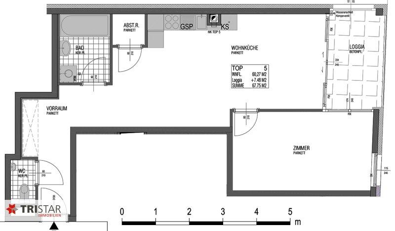 NEU! ++ ERSTBEZUG: 2 Zimmer Neubau-Wohnung in 1130 Wien, ca. 61 m2 + Loggia  (Top 5 )++ /  / 1130Wien / Bild 0