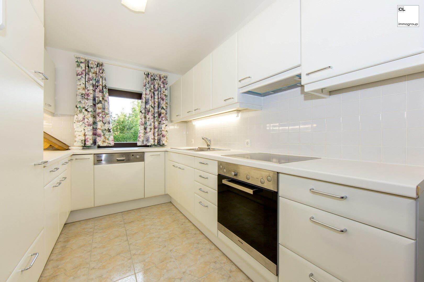 Küche mit Fenster