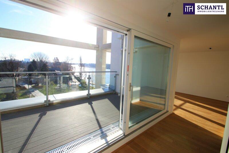 Zu Hause im Urlaub! Erstbezug im Dachgeschoss auf zwei Ebenen mit 4 Terrassen! Provisionsfrei!!! /  / 1220Wien / Bild 0