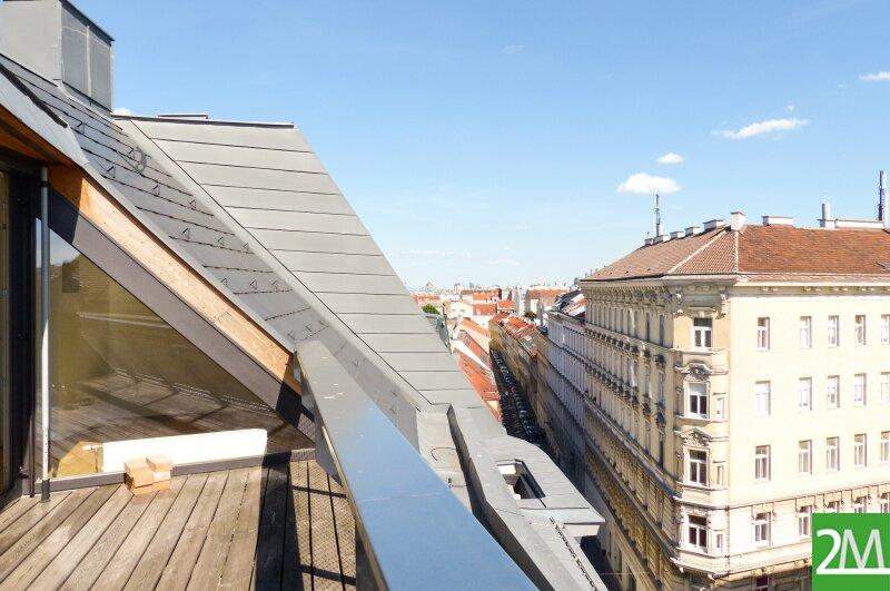 Geräumige Dachgeschoßmaisonette mit Südterrasse /  / 1070Wien / Bild 2