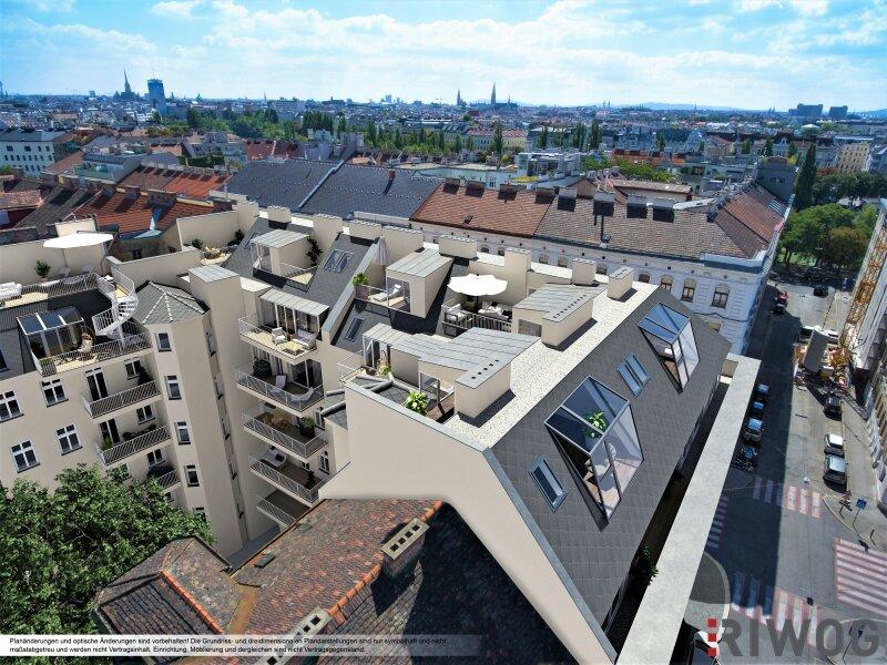 Traumhafte DG-Maisonette *Projekt SOHO-Augarten* Ruhelage Nähe Friedensbrücke! /  / 1200Wien / Bild 2