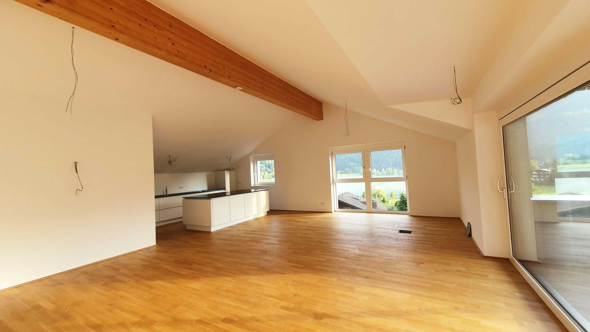 Wohnraum, Wohnung Dachgeschoss Thiersee