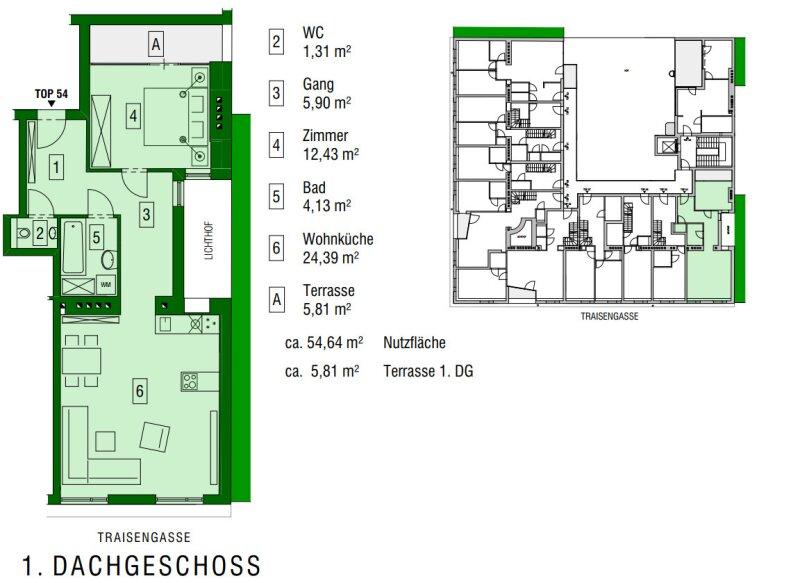 ++NEU** 2-Zimmer DG-ERSTBEZUG mit Loggia, sehr gutes Preis-Leistungsverhältnis!! /  / 1200Wien / Bild 7