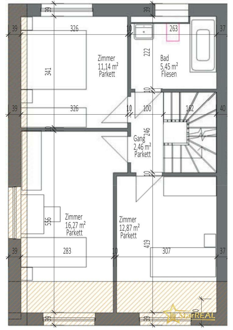 HAUS 4 Obergeschoss