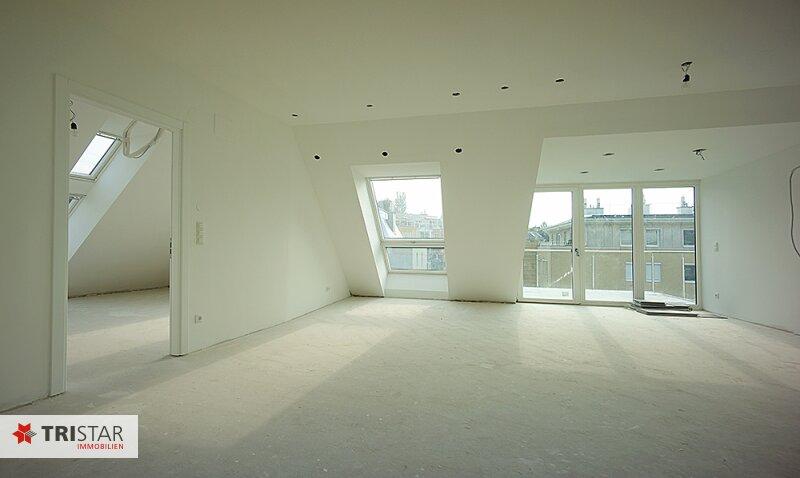 NEU! ++ 3 Zimmer-Dachgeschosswohnung in 1130 Wien, Neubau, Balkon, Dachterrasse mit Wienblick  (Top 8) ++ /  / 1130Wien / Bild 1