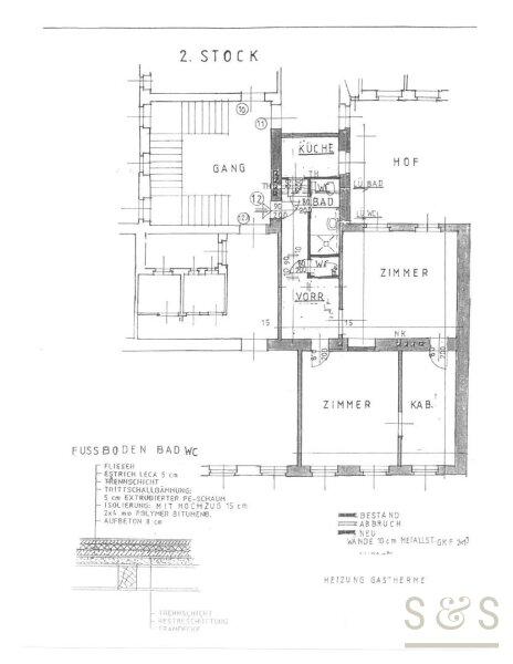 gepflegte, unbefristete Altbauwohnung in Stilhaus, Innenstadtnähe /  / 1040Wien / Bild 9