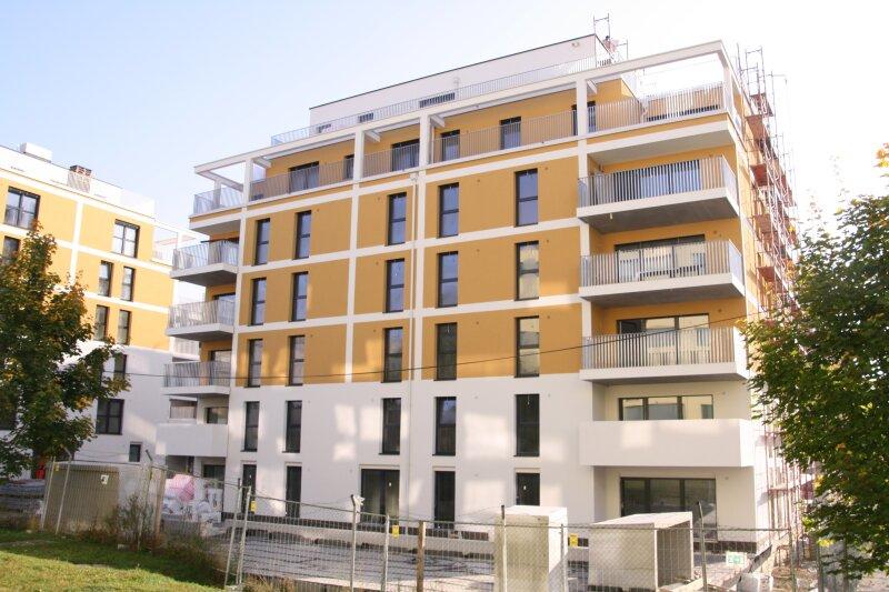 Erstbezug Frühjahr 2018: Vier-Zimmer-Wohnung mit Balkon