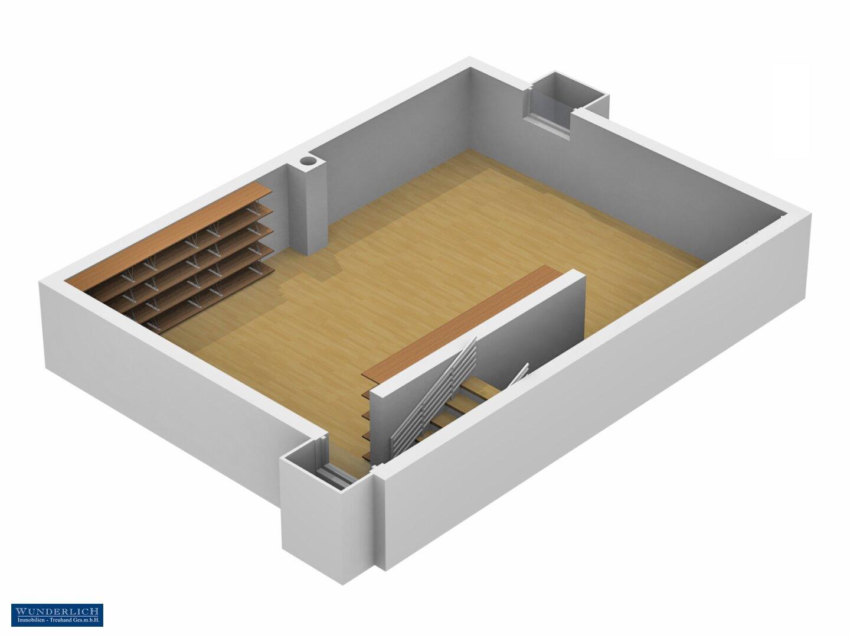 3D-Ansicht Keller