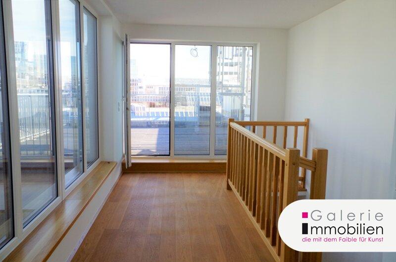 Zentral begehbare DG-Maisonette mit Terrassen auf beiden Ebenen - Weitblick Objekt_31826 Bild_145