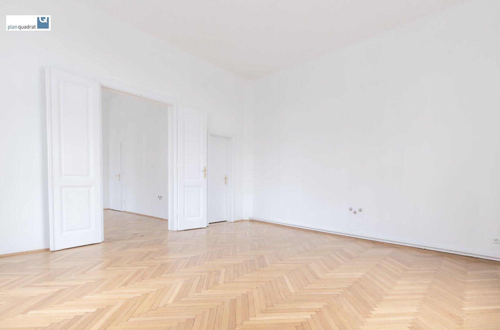 Zimmer 5 (gem. Plan; ca. 27,25 qm)