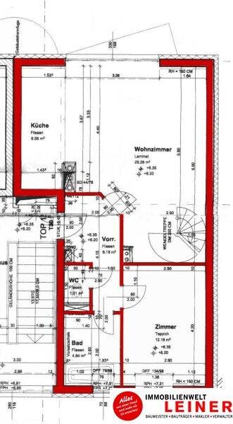 Schwechat - Beeindruckend Wohnen - Maisonette Penthouse Wohnung über den Dächern der Stadt Objekt_8955 Bild_825