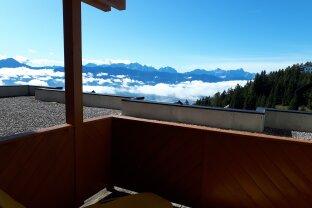 Gepflegte Garconniere mit Fernblick vom Balkon
