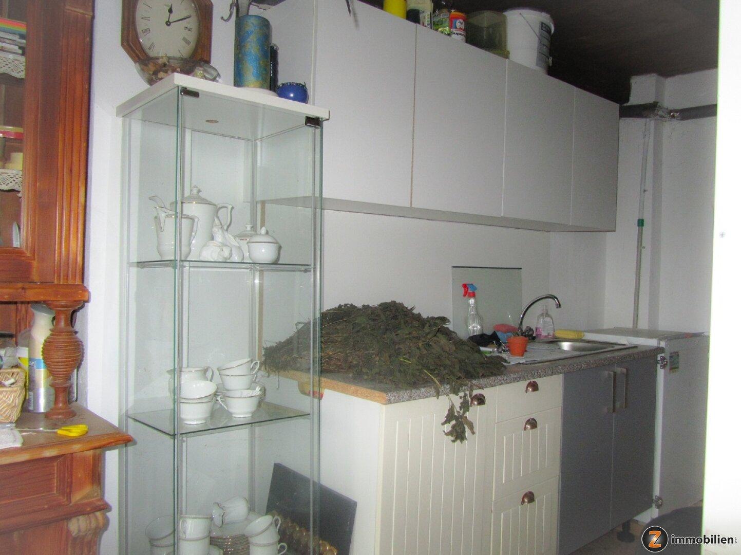 Küche im Nebengebäude