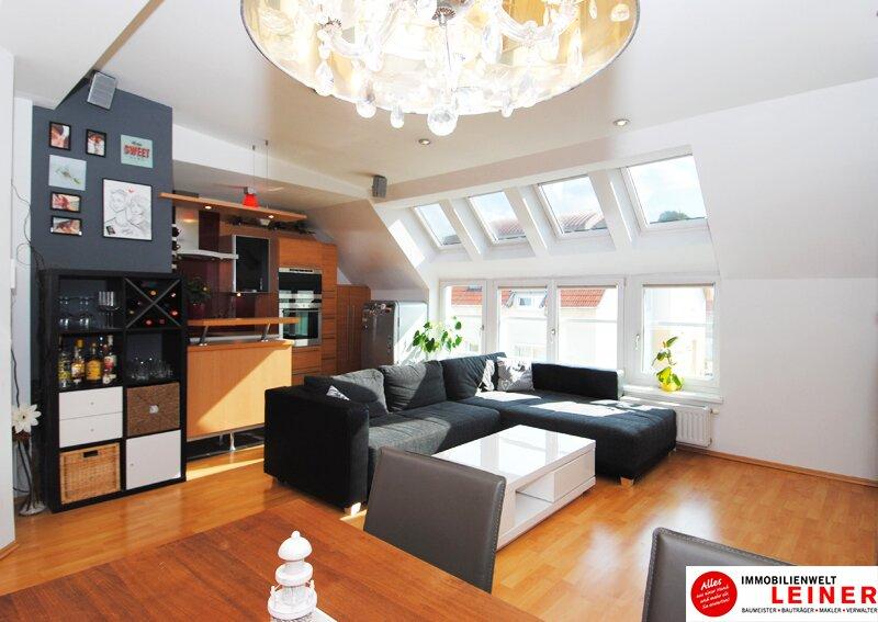 Schwechat - Beeindruckend Wohnen - Maisonette Penthouse Wohnung über den Dächern der Stadt Objekt_8955 Bild_812
