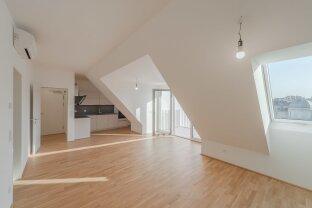 exklusive, ruhige DG-Wohnung mit Balkon, Kamin, Klimaanlage in idealer Stadtlage! (ERSTBEZUG)