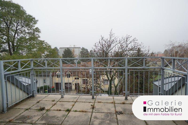 Blick auf Kahlenberg und Bisamberg - Terrassenwohnung im Neubau Objekt_29159 Bild_422
