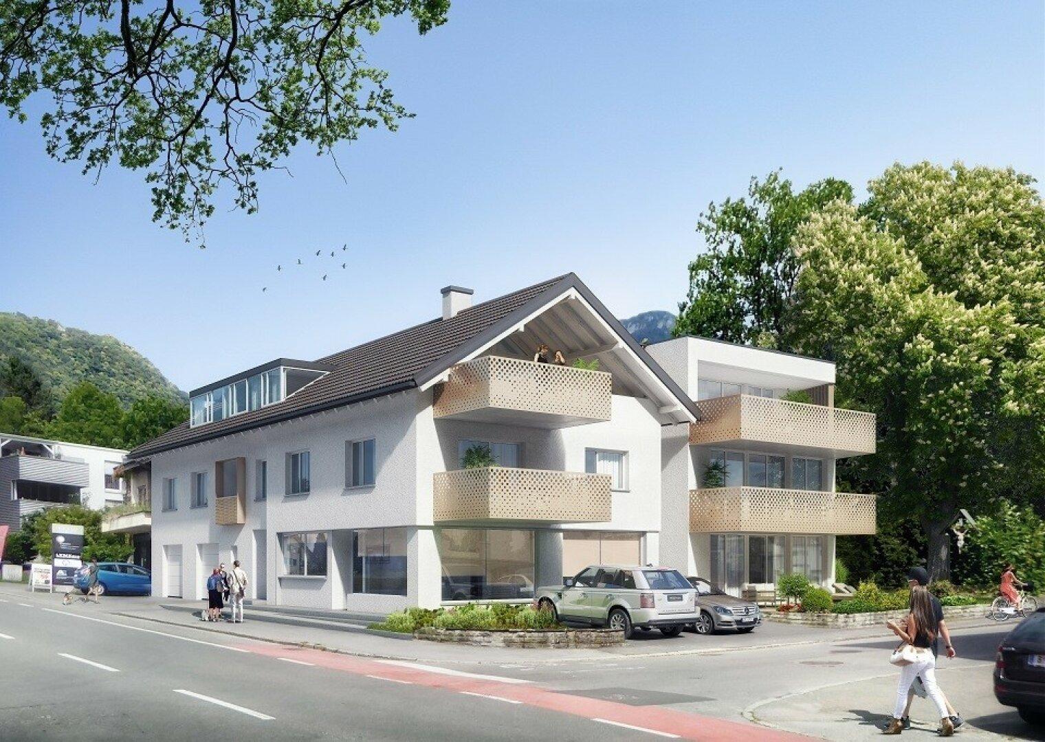 Nähe Zentrum Hohenems