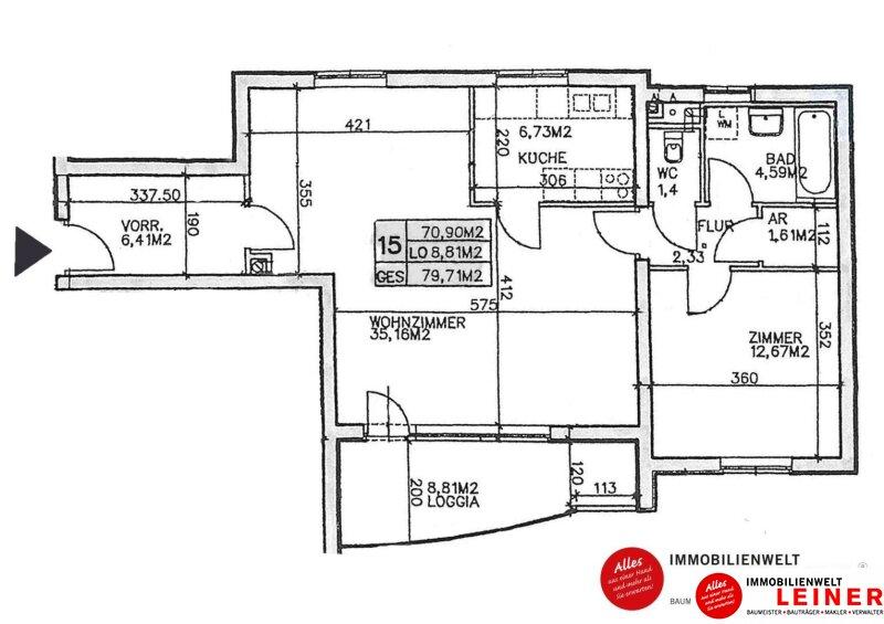 Herrlich Wohnen im 11. Bezirk: barrierefreie Eigentumswohnung mit Terrasse in der schönen Holzergasse Objekt_11224 Bild_259