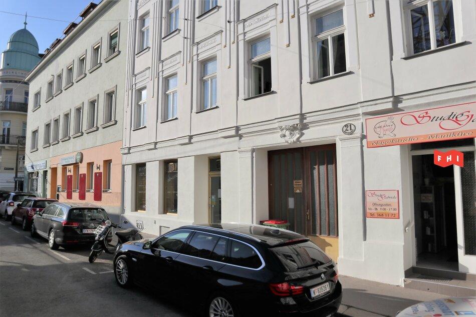 Flexibel einsetzbare Fläche | Ablösefrei | Neu renoviertes Gründerzeithaus