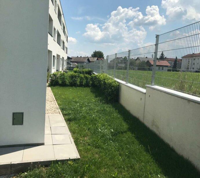 Neubau - Erstbezug - 2-Zimmer Wohnung mit Garten und Tiefgarage