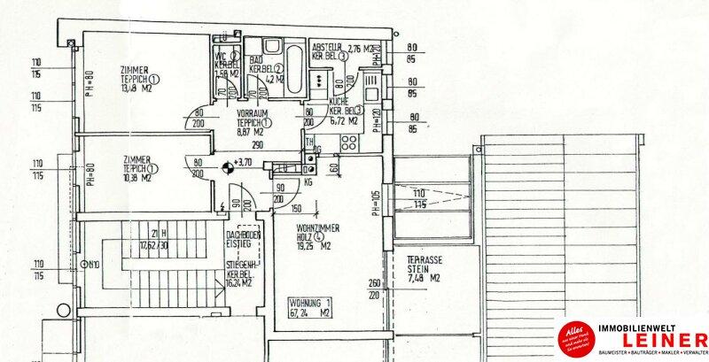 Ebergassing - 3 Zimmerwohnung im Zentrum Objekt_10004 Bild_531