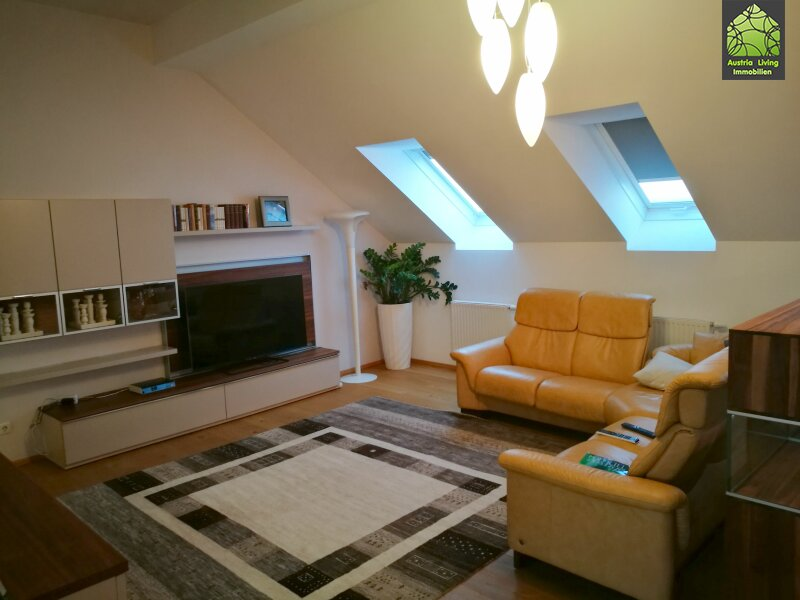 Tolle Dachgeschoßwohnung (eine Ebene) mit großer Terrasse/Rundumblick /  / 1050Wien / Bild 4
