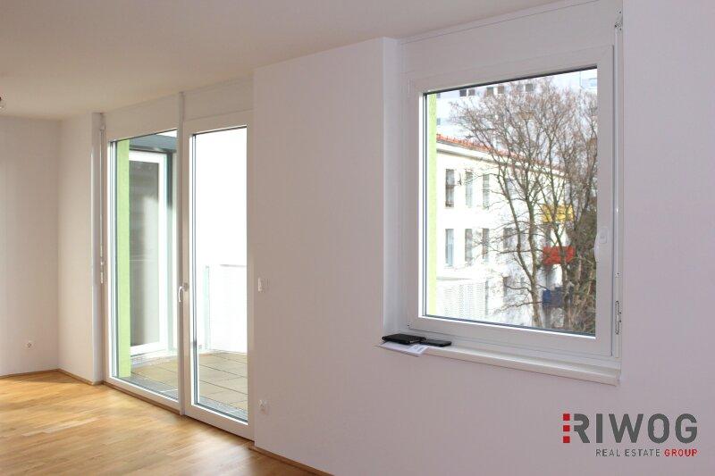 SONNIGE 3-Zimmer- Balkonwohnung - Erstbezug