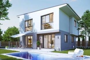 Designer Haus in idyllischer Grünruhelage an der Stadtgrenze Wiens - MIT 3D-Besichtigung Demo