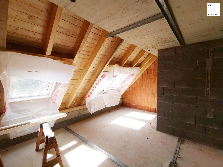 Dachgeschoss Rohbau