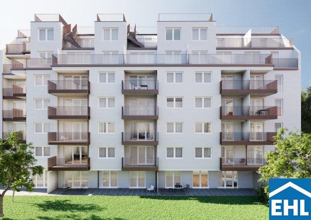 Rosé – ostseitige Dachgeschosswohnung mit Terrasse