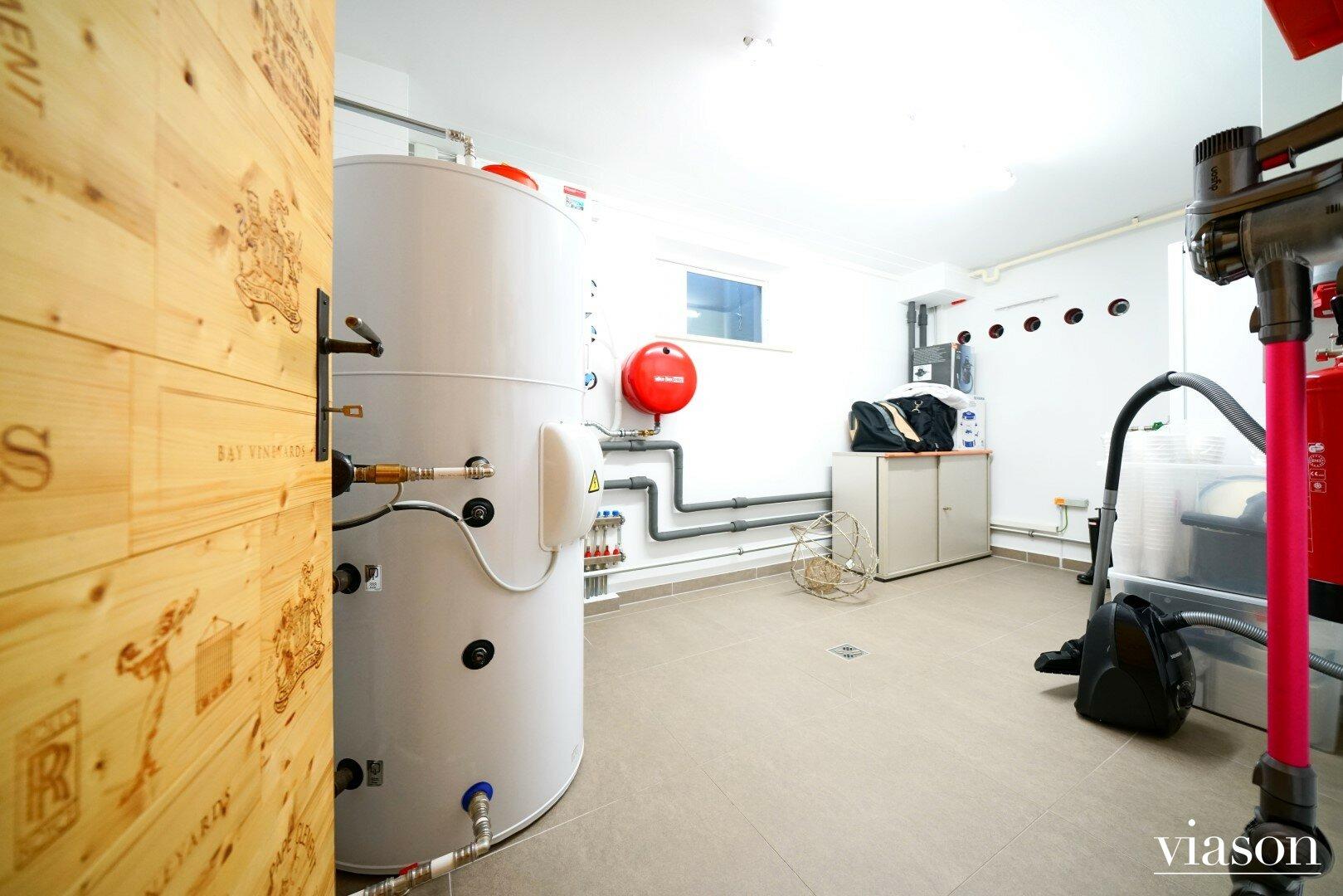 Warmwasserspeicher, Luftwärmepumpe, Hauptwasseranschluss, Elektra Bregenz Gefrierschrank