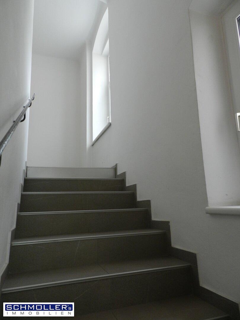 Helles Stiegenhaus