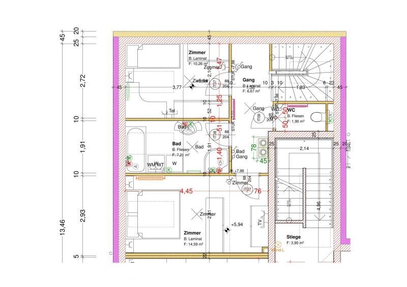 3-Zimmer Maisonetten Wohnung /  / 2202Enzersfeld im Weinviertel / Bild 8