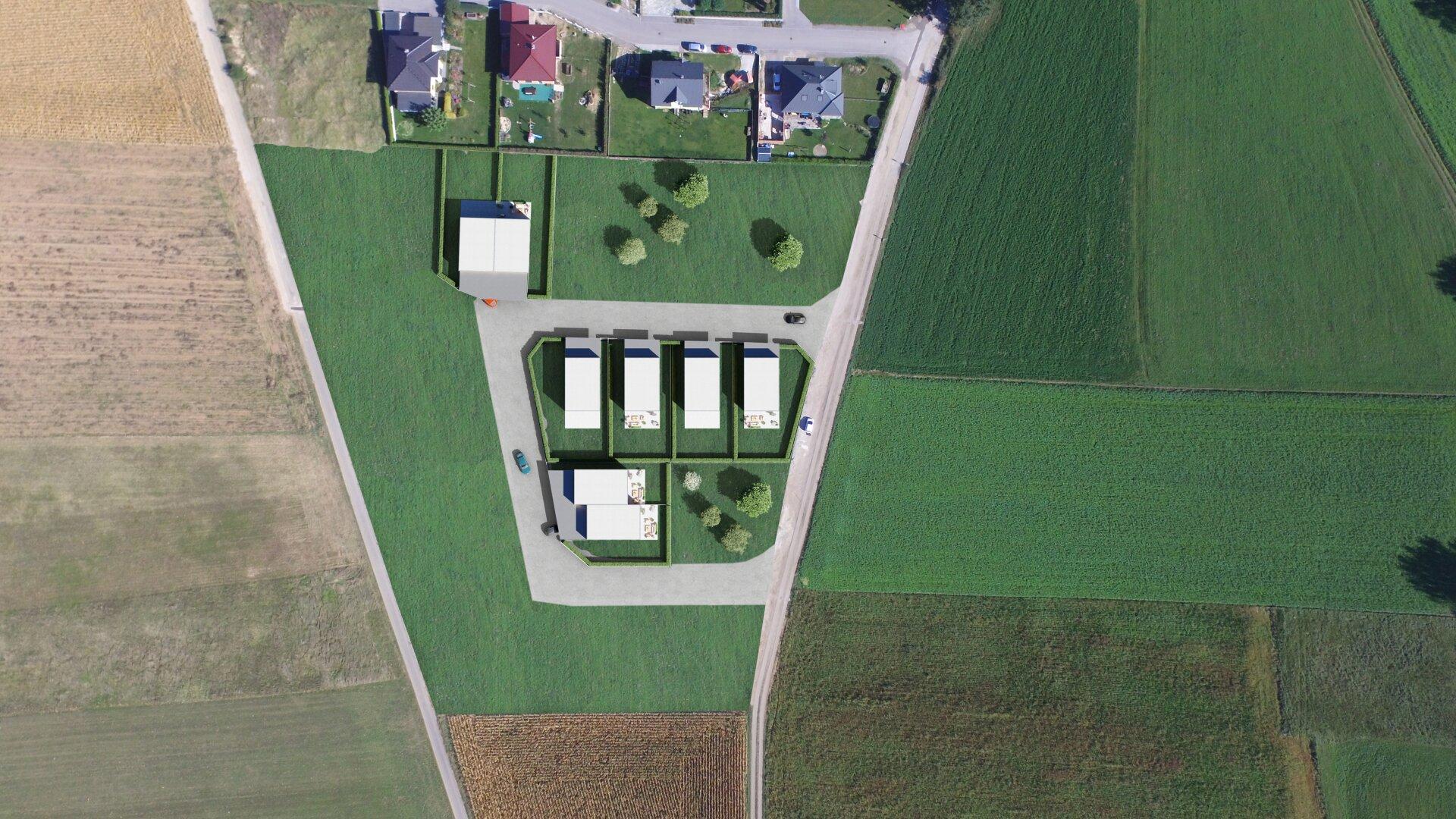 Luftaufnahme (Visualisierung)