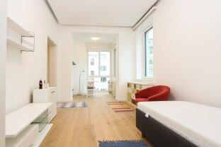 Möblierte 1-Zimmer Wohnung mit perfektem Grundriss! ERSTBEZUG!