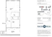 2-Zimmer mit Terrasse im 1.DG - Quartier 11 - Erstbezug - Provisionsfrei
