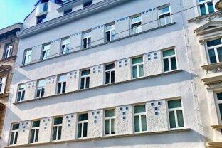 EXZELLENTE 2-Zimmer Dachgeschoß-Wohnung mit traumhafte Terrasse in Top Lage - Roßauer Lände! ERSTBEZUG!