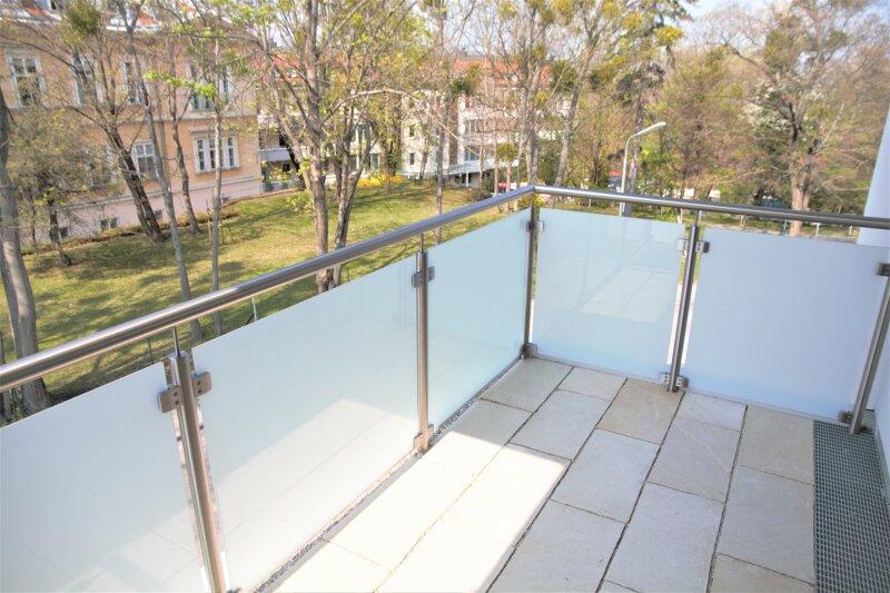6,65 m² BALKON + 2 französ. Balkone, 38m²-Wohnküche + Schlafimmer, 2. Stock, Bj.2017 /  / 1190Wien / Bild 1
