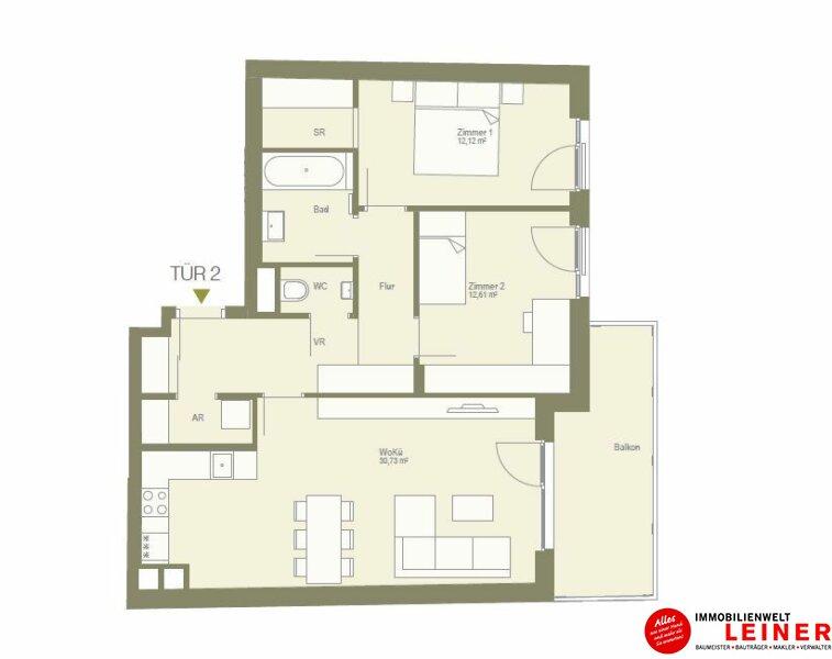ruhige 3 Zimmerwohnung mit Schrankraum - unbefristeter Mietvertrag! Objekt_10442 Bild_597