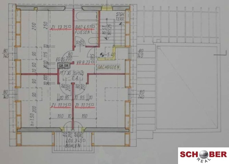 **Toplage**    121 m2 Wohnfläche + 60 m2 Spabereich /  / 1130Wien / Bild 7