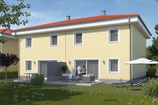 """Sonnige Doppelhaushälfte mit feinem Garten (Haus 1"""")"""