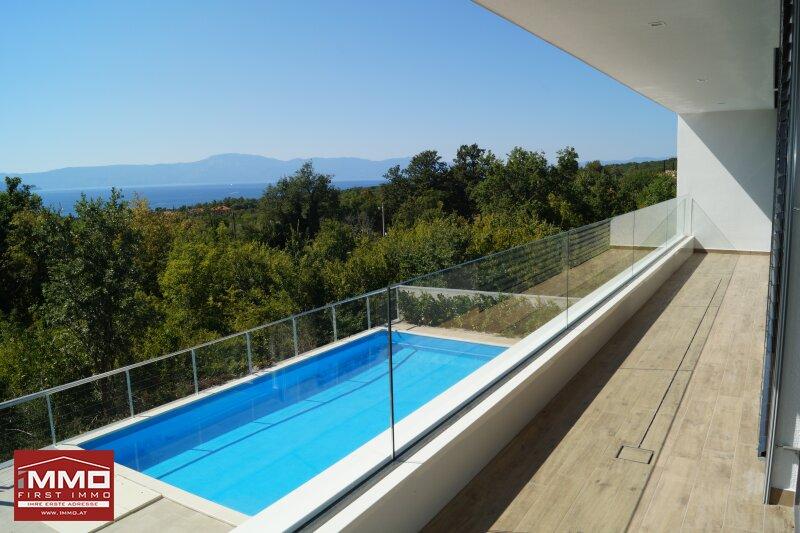 Insel-Traumhaus mit Panorama-Blick aufs Meer /  / 51511Sveti Vid-Miholjice / Bild 0