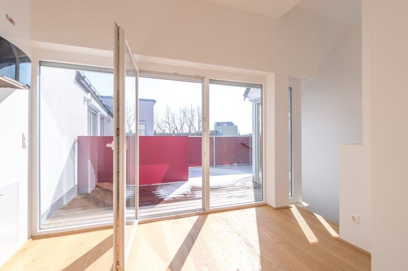 ++NEU** 3,5-Zimmer DG-Maisonette, ERSTBEZUG mit Terrasse und Loggia, sehr gutes Preis-Leistungsverhältnis!! /  / 1200Wien / Bild 0