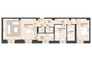 Exklusive 3-Zimmer-Wohnung - Photo 7