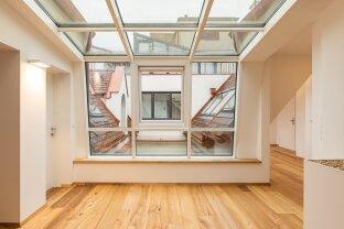 Exklusiver  Dachgeschoßtraum mit Dachterrasse!